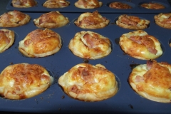 canapes quiches