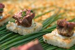 meat canapes